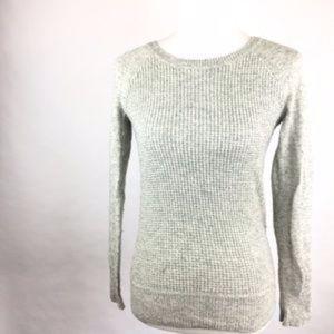 J. Crew Gray Knit Sweater